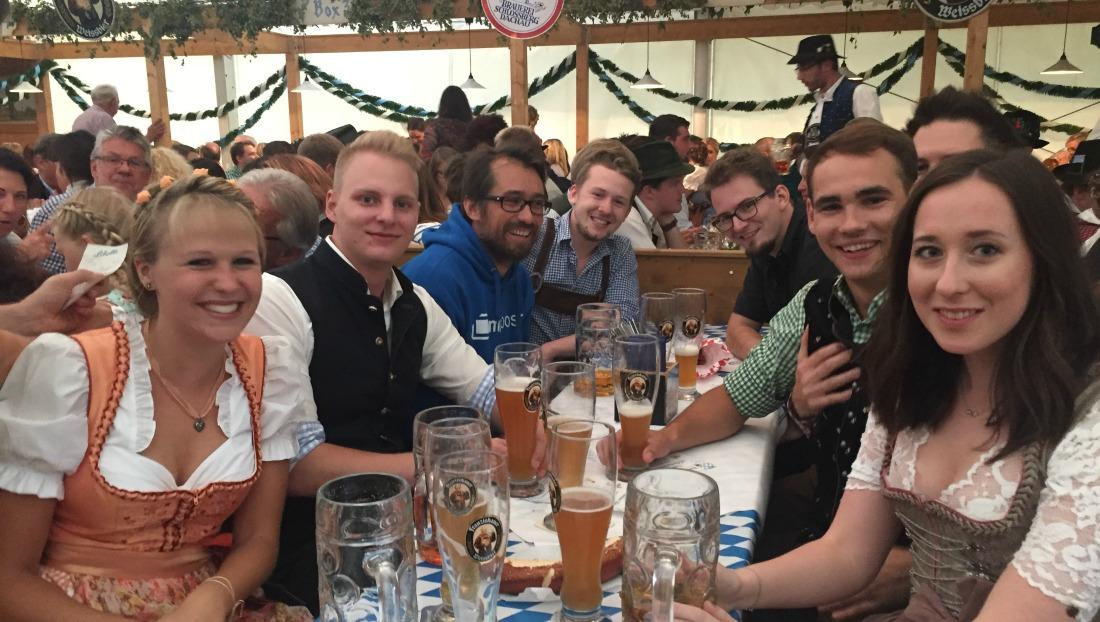 myposter auf dem Dachauer Volksfest